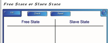 Smart board Exercises - South Carolina - 8-4.3 - Road to the Civil War