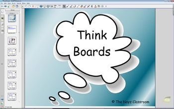 Smart board Think Board Problems
