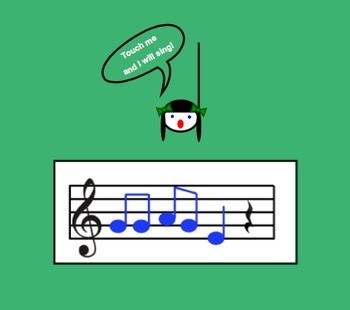 Smart board sight reading -  better than flashcards