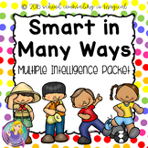 Smart in Many Ways: Multiple Intelligences Packet