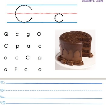 Letters and Songs for Smart Board