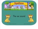 Smart notebook Spelling - long 'a' vowel sound, same sound