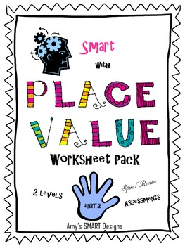 Smart with Place Value Worksheet Pack