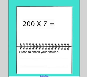 SmartBoard Activity: Multiplication by 1 Digit and Multipl