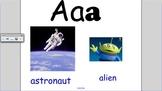 SmartBoard Alphabet flashcards