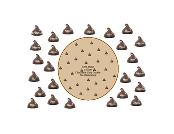 SmartBoard  Attendance- Chocolate Chip Cookie