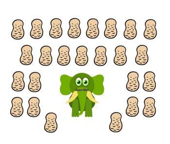 SmartBoard  Attendance- Elephant & Peanuts