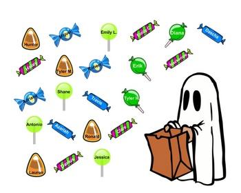 SmartBoard  Attendance- Halloween