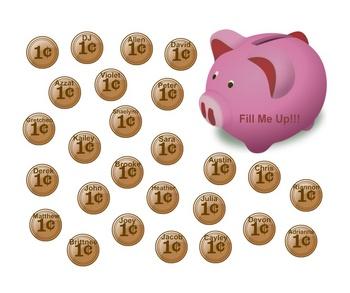 SmartBoard  Attendance- Piggy Bank
