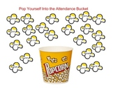 SmartBoard  Attendance- Popcorn