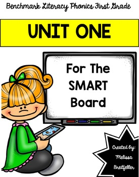 SmartBoard Benchmark Literacy Phonics Unit 1