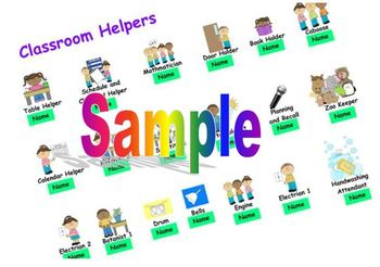 SmartBoard Classroom Helper Activity