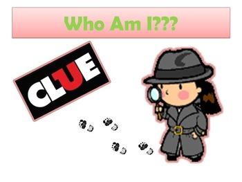 SmartBoard Clue Game:  7th Grade GA Milestone (editable version included)