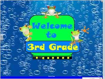 SmartBoard Frog Open House Presentation
