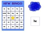 SmartBoard HFW (High Frequency Word) Bingo Model