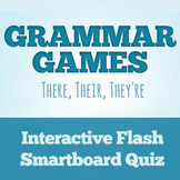 SmartBoard Homophone Activity: There, Their, or They're?