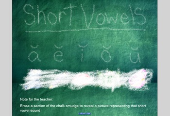 SmartBoard Lesson-Short Vowel Sounds