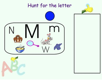 SmartBoard Letter Identification and Sound Sorting Lesson