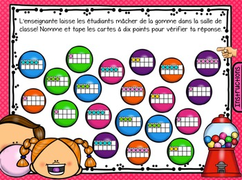 SmartBoard Math Problem of the Day: Back to School August September French