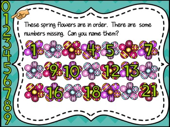 St. Patrick's Day & Spring SmartBoard Math Problem of the Day: English