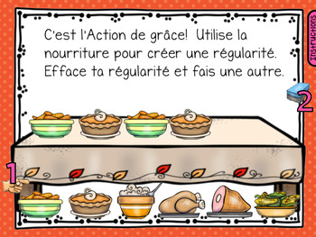 SmartBoard Math Problem of the Day: Fall Halloween Thanksgiving October French
