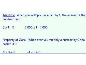 SmartBoard Mini Lesson on Multiplying Rational Numbers