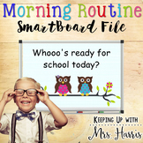 SmartBoard Morning Routine