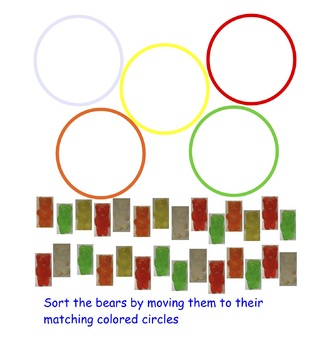 SmartBoard Notebook Lesson Gummy Bear Sort