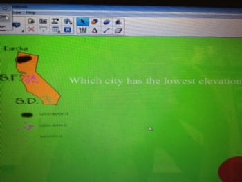 SmartBoard Review Game-California Geography