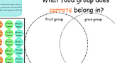 SmartBoard Venn Diagram Morning Questions Attendance
