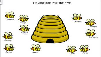 SmartBoard attendance file honey bees