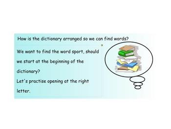 Language SmartBoard - Dictionary skills