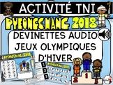 PyeongChang 2018 - Devinettes sur les Jeux d'Hiver 2018