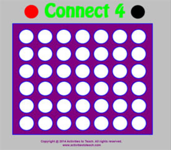 SmartNotebook Connect 4 Game - Basic