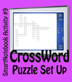 SmartNotebook Crossword Template
