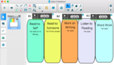 SmartNotebook Daily 5 Template -- Editable
