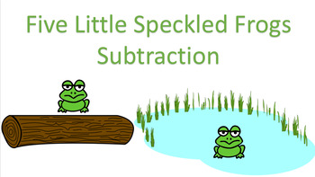 SmartPen Frog Subtraction!