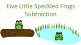 SmartPen Frog Subtraction!