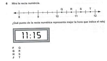 Smartboard 3rd Grade Spanish Math STAAR 40 Word Problems