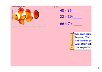 Smartboard Activites for Daily Math Review & Math Talks