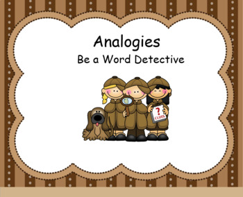 Smartboard Activities for Analogies