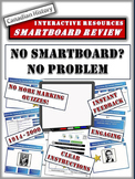 Canadian History Smartboard Files - 10 Files and 90 Slides! 1914 to 2000