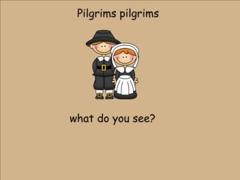 Smartboard Activity Pilgrims, pilgrims what do you see?