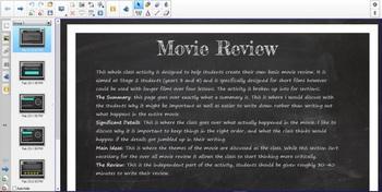 Smartboard Activity - Short Film Review