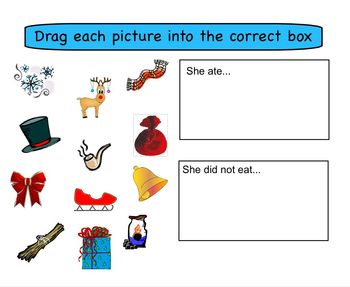 Smartboard Activity: There Was an Old Lady Who Swallowed a Bell