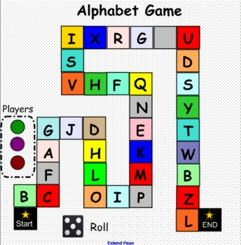 Smartboard: Alphabet Game (Capital Letters)