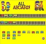 Smartboard Attendance All Aboard Theme
