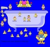 Smartboard Attendance Ducky Theme