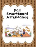 Smartboard Attendance Fall Theme