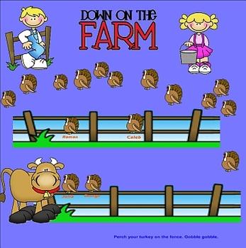 Smartboard Attendance Farm Theme